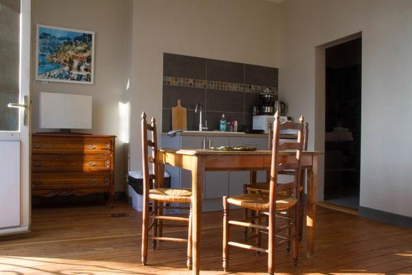 Appartement meublé avec cuisine équipée