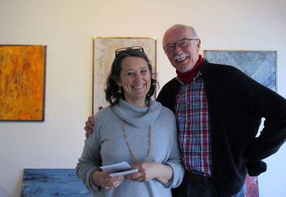 Susanne mit Bernhard
