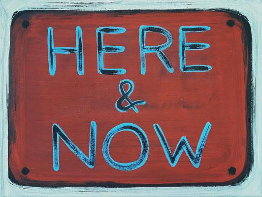 "21. Dezember 2020 - ""HERE & NOW"""
