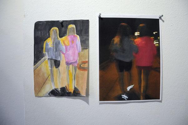Foto (re) und Studie zu großem Bild von Gabi Fordermair
