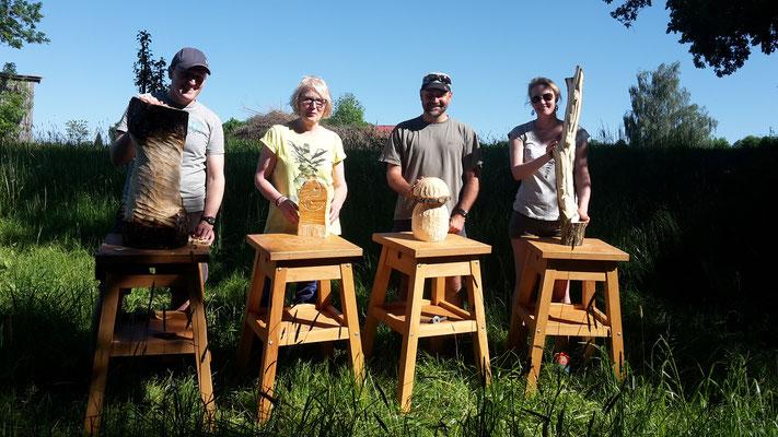 Impressionen Holz-Workshop 17052