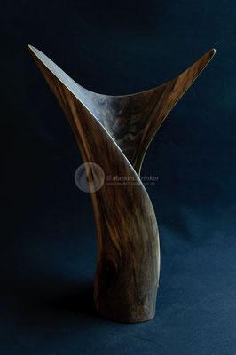 Sonnenfänger, Walnussholz, 54 x 36 x 19 cm