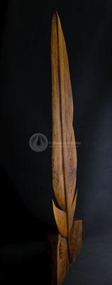 Feder, Eichenholz geölt, 127 cm