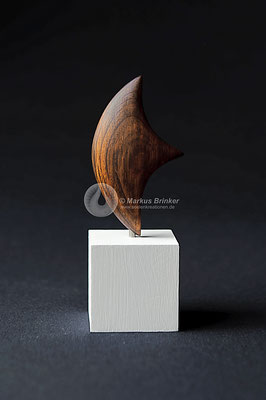 "Holzskulptur ""La Vela"", Kernholz eines ca. 1000 jährigen Olivenbaums"