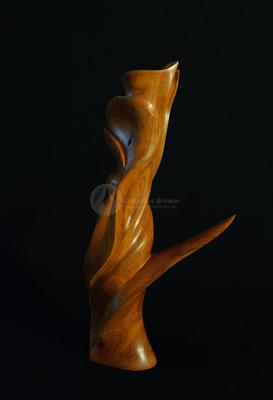 Feuerblume, Kirschholz geölt, 46 cm