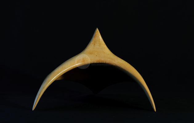 Aquila, Erlenholz gewachst, 34 x 20 cm