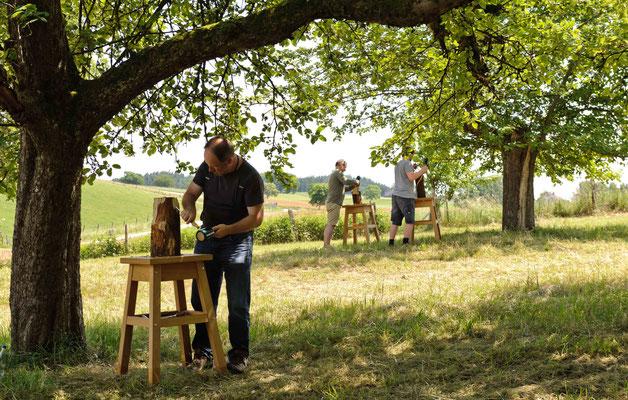Impressionen Holz-Workshop 1661