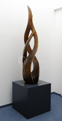 Element Feuer, Eichenholz 275 x 75 cm