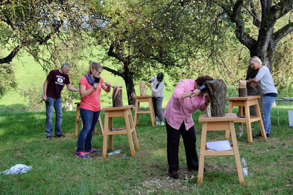 Impressionen Holz-Workshop 16101
