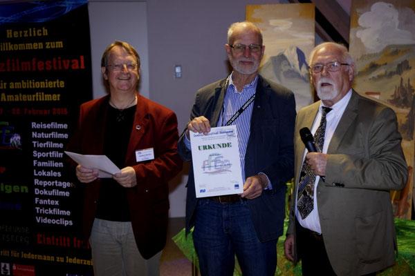 v.l.:  Adalbert Becker, Rolf Rachor, Reiner Urban