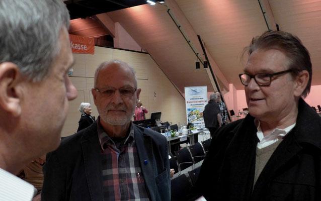 Rolf Rachor und Claus Becker, beide OFC