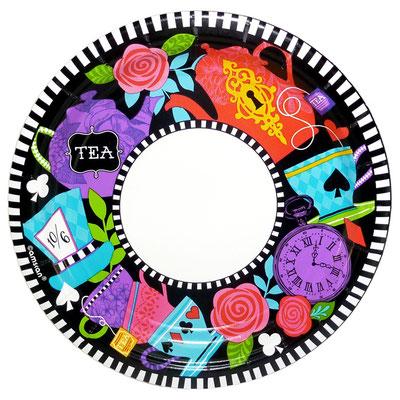 Тарелки Безумное чаепитие