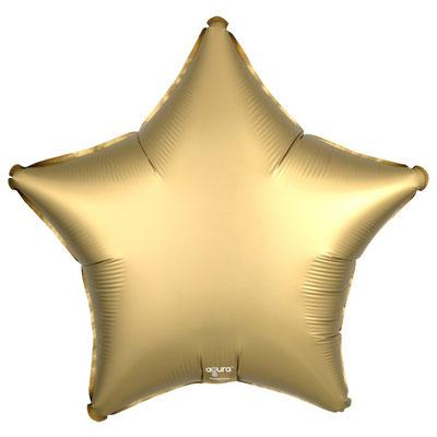 Фольгированные шары золото сатин - купить в Казани