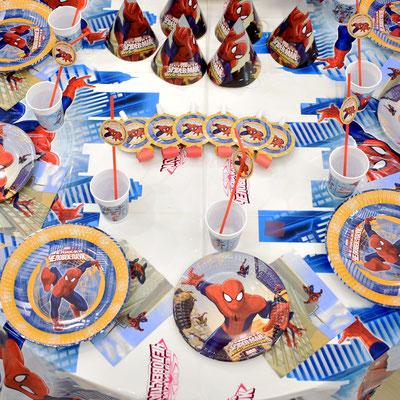 Праздничный стол в стиле Человек Паук - купить в Казани