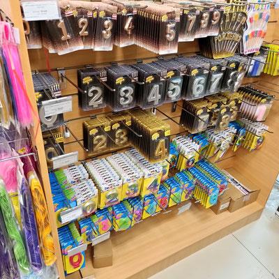 Свечи цифры для торта в магазине Волшебник на Ямашева