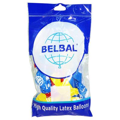 Воздушные шары Belbal (Белбал) с рисунком, в пачке