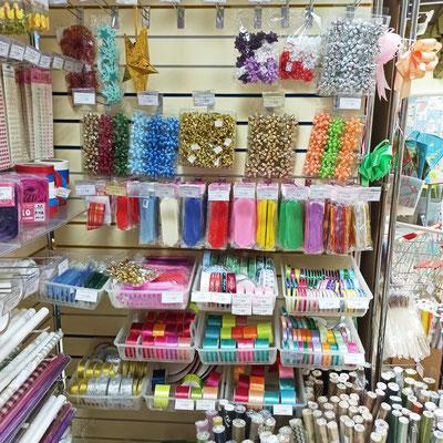Ленты и банты для упаковки подарков в магазине Волшебник на Восстания
