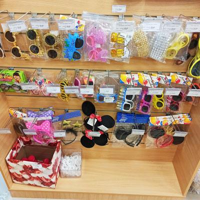 Прикольные очки и ободки для маскарада и вечеринок в магазине Волшебник на Ямашева