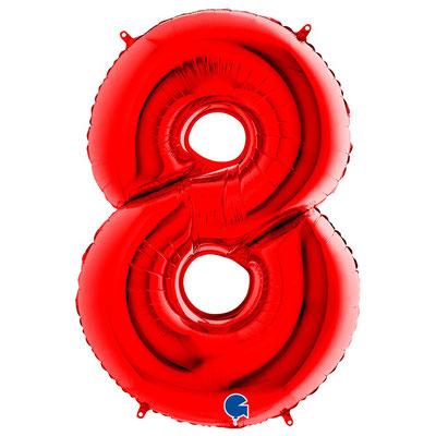 Фигура Grabo цифра 8 красный, размеры 64*95 см, купить в Казани