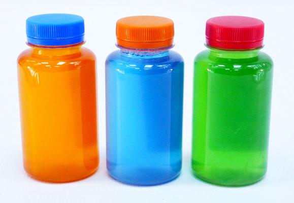 Запас раствора для мыльных пузырей в флаконах 200 мл