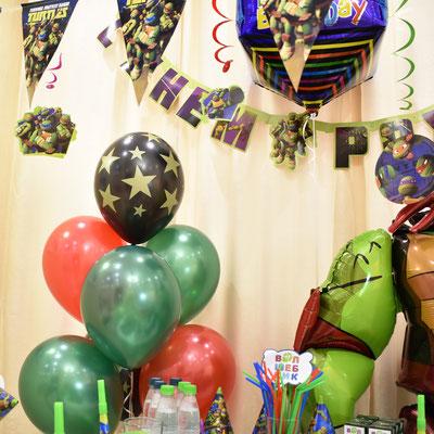 Воздушные шары с гелием на день рождения - купить в Казани