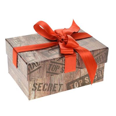 Стоимость упаковки: 50 руб. (готовая коробка, только бантик)