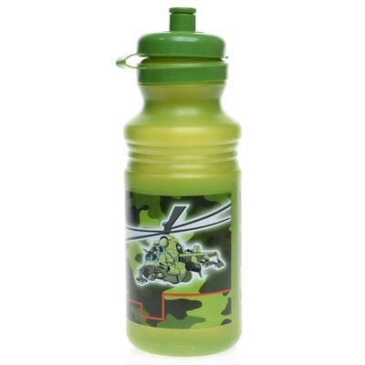 Бутылка спортивная Камуфляж пластик 530 мл - купить в Казани
