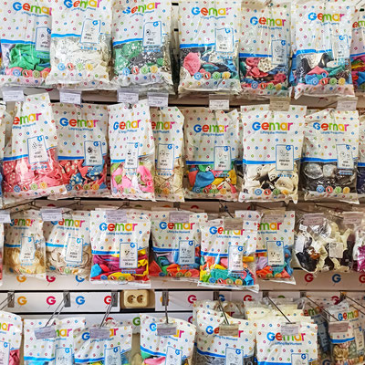 Воздушные шары Gemar с рисунком в пачках в магазине Волшебник на Восстания