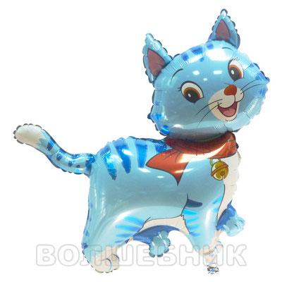 Фигура Flexmetal Мой милый котёнок в шарфе, размеры: 70*70 см, купить в Казани
