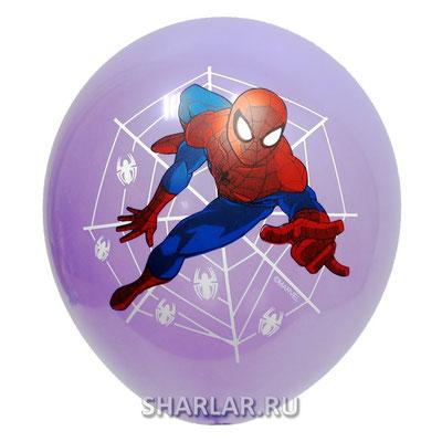 Воздушные шары с гелием с рисунком Человек Паук - купить в Казани