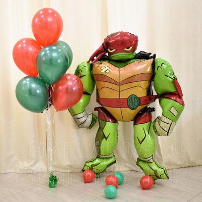 Воздушные шары с гелием Черепашки Ниндзя - купить в Казани