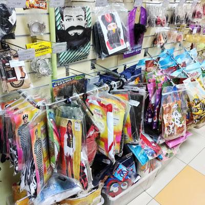 Карнавальные костюмы в магазине Волшебник на Восстания