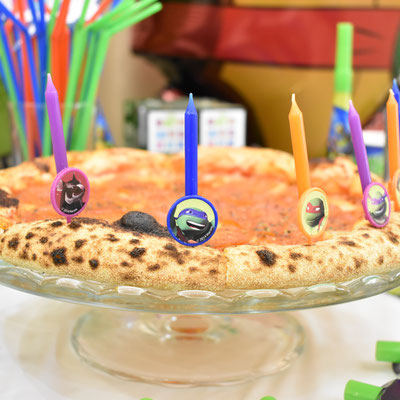 Свечи на торт или на пиццу для дня рождения в стиле Черепашки Ниндзя - купить в Казани