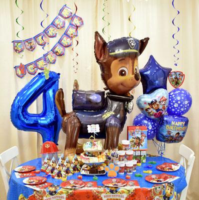 Оформления дня рождения в стиле Щенячий патруль - купить в Казани
