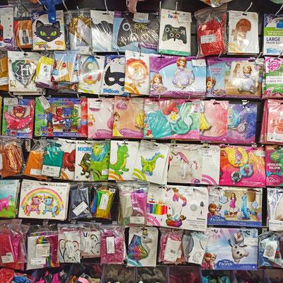 Фольгированные фигуры для надувания гелием в магазине Волшебник на Ямашева