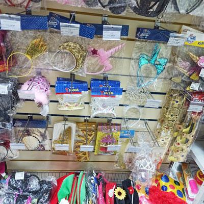 Ободки, головные уборы в магазине Волшебник на Восстания