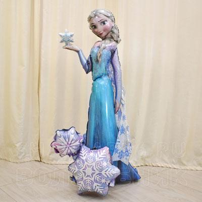 Воздушные шары с гелием - Холодное сердце - купить в Казани