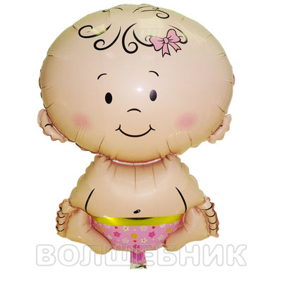 Фигура Flexmetal Малышка девочка, размеры: 36*50 см, купить в Казани
