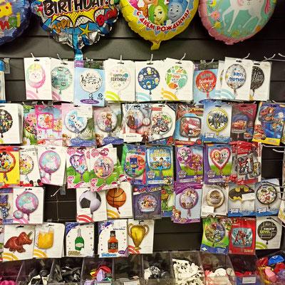 Фольгированные шары с рисунком, для надувания гелием в магазине Волшебник на Сахарова