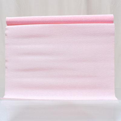 Бумага гофрированная светло-розовая 50х250 см цвет 569 купить в Казани