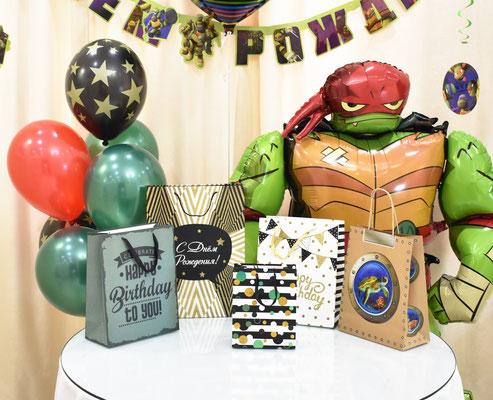 Пакеты для подарков на день рождения - купить в Казани
