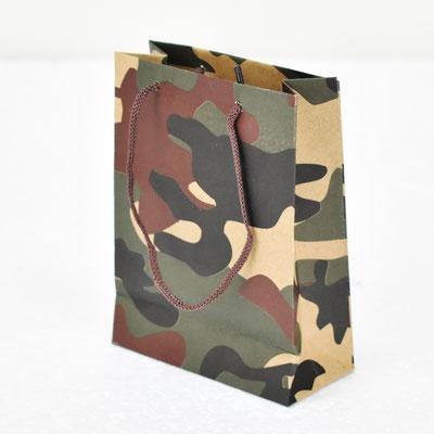 Пакет для подарка крафт Камуфляж 14,5*11*5 см #1705101 - купить в Казани