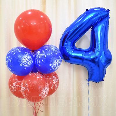 Воздушные шары с гелием Человек Паук - купить в Казани