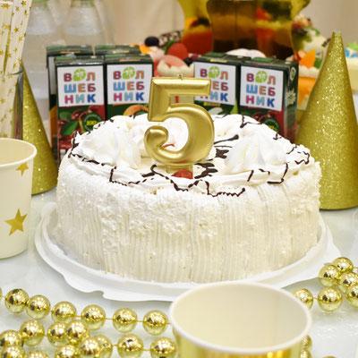 золотая свеча цифра на праздничный торт  для дня рождения - купить в Казани
