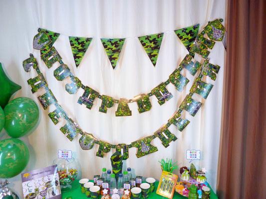 Настенные Гирлянды: С Днем рождения, Поздравляем