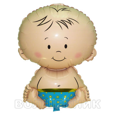 Фигура Flexmetal Малыш мальчик, размеры: 36*50 см, купить в Казани