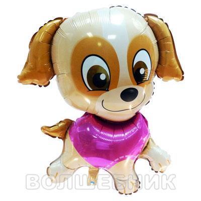 Фигура Flexmetal Щенок розовый, размеры: 50*62 см, купить в Казани
