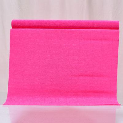 Бумага гофрированная ярко-розовая 50х250 см цвет 571  купить в Казани