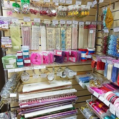 Декоративные упаковочные материалы в магазине Волшебник на Восстания