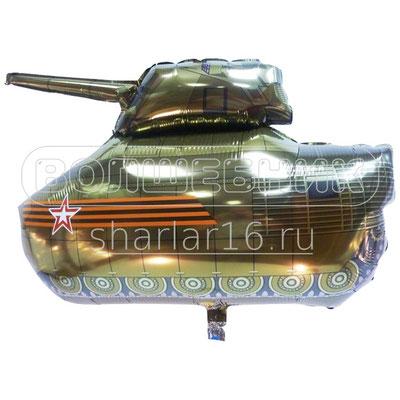 Фигура фольгированная на День Победы 9 мая - Танк #911506 купить в Казани